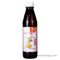 jual Curcuma Plus Grow Strawberry Per Pack isi 3 Botol