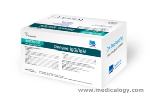 jual Rapigen IgG/IgM Dengue Test Kit Isi 25 Tes Demam Berdarah