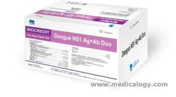 jual Rapigen NS1 Ag+Ab Duo Dengue Test Kit Isi 10 Tes Demam Berdarah
