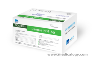 jual Rapigen NS1 Antigen T Dengue Test Kit Isi 25 Tes Demam Berdarah