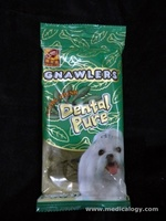 jual Dental Pure Gnawlers Extra Fresh Leaf Bones 5 pcs - 90 grams