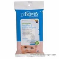 jual Dr Brown Browns Pacifier  Bottle Wipes Tisu Pembersih Empeng Bayi