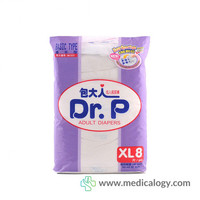 jual Dr.P Adult Diapers Basic XL8