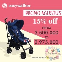 jual Easywalker Mini Buggy Stroller UNION JACK CLASSIC