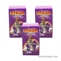jual Fitkom Grape 30's new per pack isi 6 Botol
