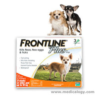 jual Frontline Plus Dog / Puppies Up To 10 Kg / 10Kg