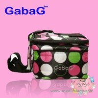 jual Gabag Cooler bag starter kit - polkadot