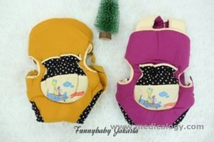 jual Gendongan Ransel 3In1 Snobby Dotty Series