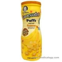 jual Gerber Baby Food Graduates Puffs Cereal Snack With Banana Flavored