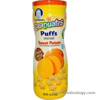 jual Gerber BabyKids Puffs Cereal Snack Sweet Potato Snack Rasa Kentang