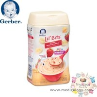 jual Gerber Lil bits Oatmeal Banana Strawberry