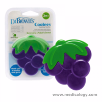 jual Gigitan Bayi DR Brown / Dr Browns coolees soothing Teether grape
