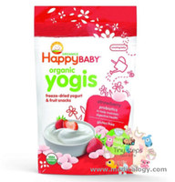 Happy Baby Organics Yogis Strawberry