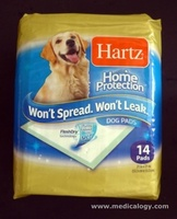 jual Hartz Home Protection Dog Pads  53.3 cm x 53.3 cm 14 Pads 041564