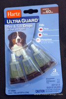 jual Hartz Ultra Guard Flea & Tick Drops for Dog over 60 lbs 108663