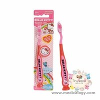jual Hello Kitty suction ToothBrush pink + Cover