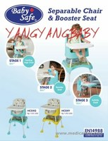 jual High Chair Babysafe 3 in 1 Multifungsi
