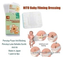 jual HITO Baby Filming Dressing Medical Sterilization Penutup Pusar Bayi