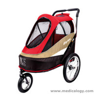 jual Ibiyaya Red Happy Bicycle Pet Trailer/ Stroller  FS980-R