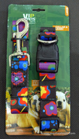 jual Kalung Leher & Tali Penuntun Vip Pets Collar & Leash Large BY42017