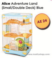 jual Kandang Hamster/Adventure Land For Hamster Double Deck AE24