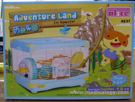 jual Kandang Hamster/Adventure Land For Hamster Single Deck AE37