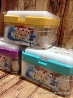 jual Little Baby Tisue Cotton Buds Box 3 in 1