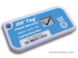 Log Tag Tict iSO Tag Indikator Freezer