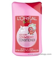 jual Loreal Kids Very Berry Strawberry Conditioner Isi 250ml