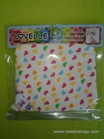 jual Lovelle Full OF Love BabyGirl One Size 3-IN-1 Bandana Bib Multifungsi