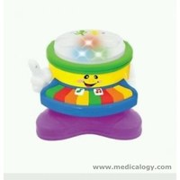 jual Mainan Anak Kiddieland 2 - In - 1 Piano N' Drum
