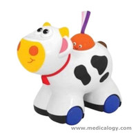 jual Mainan Anak Kiddieland Press N' Go Moo Moo Cow