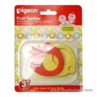 jual Mainan Gigitan Bayi PIGEON Fruit Teether Vegetable design 2 pcs