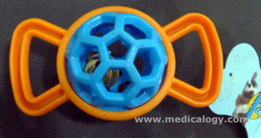 jual Mainan Rubber Bone With Bell TOY-550
