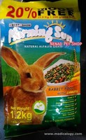 jual Makanan Kelinci Morning Sun/Rabbit Food With Carrot