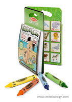 jual Melissa Doug On The Go Color N Carry Alphabet coloring Activities