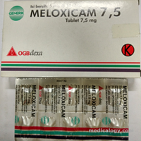 jual Meloxicam 7,5 mg per Box