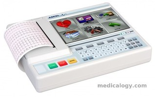 jual Mesin EKG 3/6/12 Channel Aspel Ascard Grey