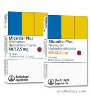 jual Micardis plus 40mg per Box isi 20 Tablet