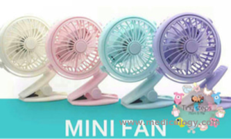 jual Mini Fan Free angle for Strollers