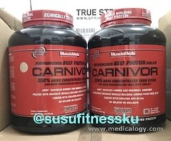 jual Musclemeds Carnivor 4Lbs 4,6 Lb Beef Whey Protein Whey
