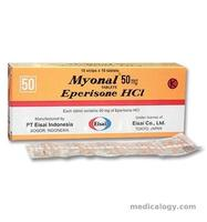 jual Myonal 50 mg per Box isi 100 Tablet
