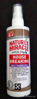 jual Nature's Miracle House Breaking Puppy Training Spray 236ml 610050