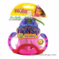 jual NUBY 360 Flip N Sip Straw Bayi Training Cup Trainer Weighted Pemberat