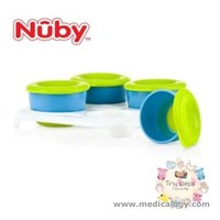jual Nuby Garden Fresh Snack Pots In Tray - 4 pcs