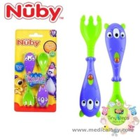 jual Nuby Monster fork Spoon 18 Month
