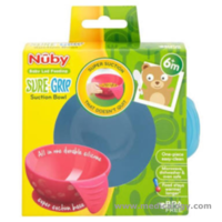 jual Nuby Sure Grip Suction Bowl / Mangkok Nuby