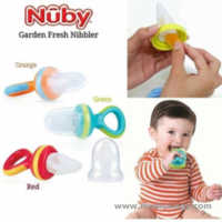 jual NUBY The Nibbler Mesh Fruit Food Feeder Jaring Makanan Buah Bayi