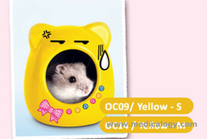 jual OIC Kitty Shaped Ceramic House Yellow Medium OC14