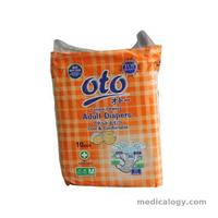 jual OTO Pampers Size M Isi 10